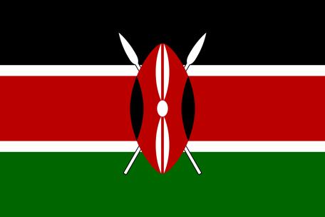 Kenyas flagga, flaggor